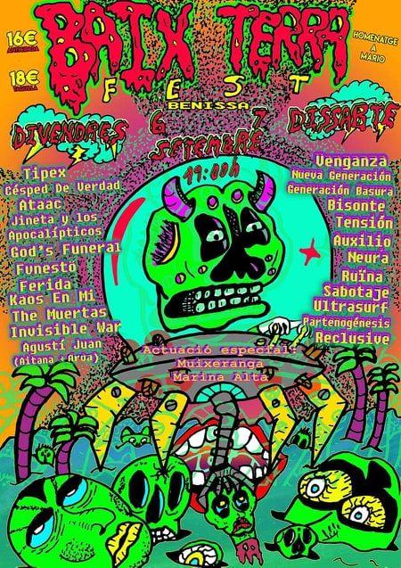 Cartel Baix Terra Fest 2019