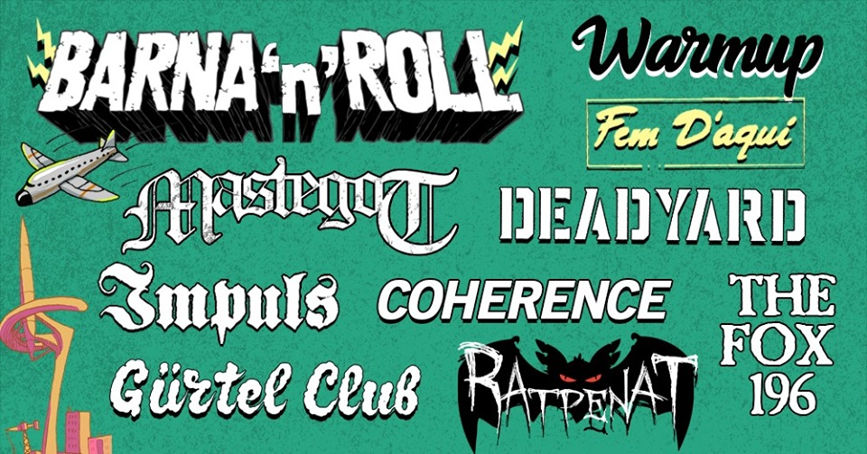 "Cartel del Barna 'n' Roll WARM UP 2019 ""Fem D'aquí"