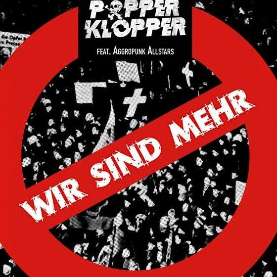 'Wir Sind Mehr' nuevo EP de Popperkopper (Aggresive Punk Produktionen, 2019)