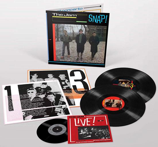 The Jam: Reedición de la compilación 'Snap' en triple vinilo