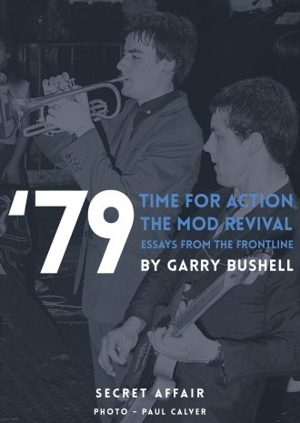 'Time For Action - the story of the mod revival' de Garry Bushell, portada de Secret Affair