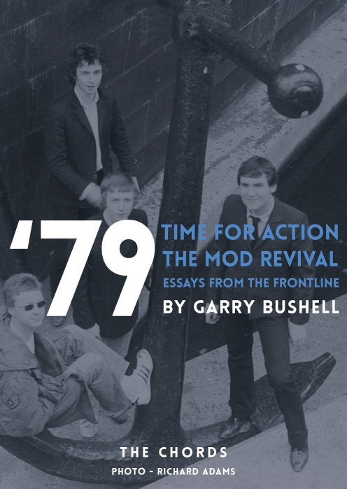 'Time For Action - the story of the mod revival' de Garry Bushell, portada de The Chords