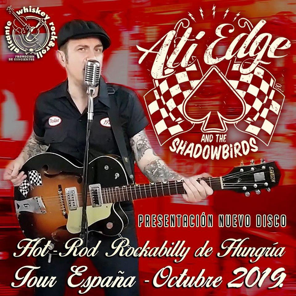 Cartel del tour de Ati Edge & The Shadowbirds