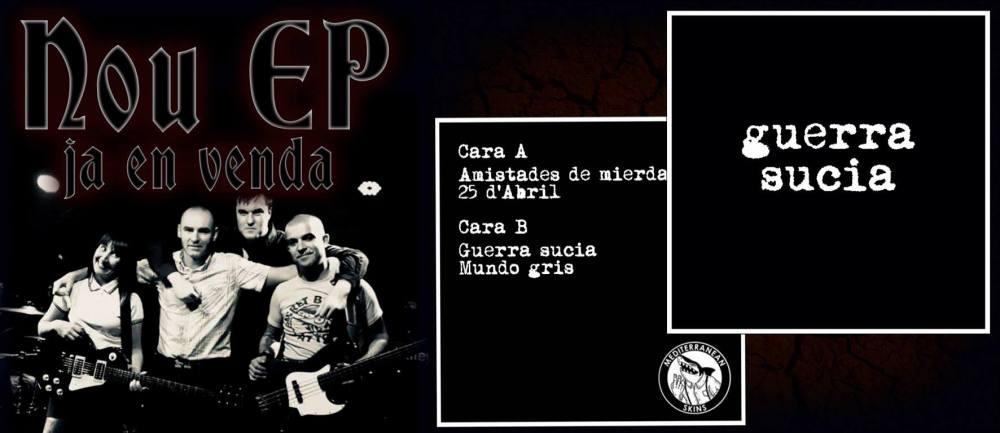 EP de Guerra Sucia (Oi! desde Barcelona)