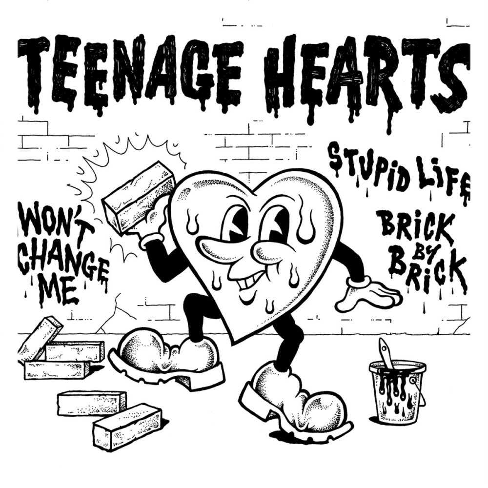 EP de Teenage Hearts, publicado por Primator Crew y Tough Ain't Enough Records en septiembre de 2019