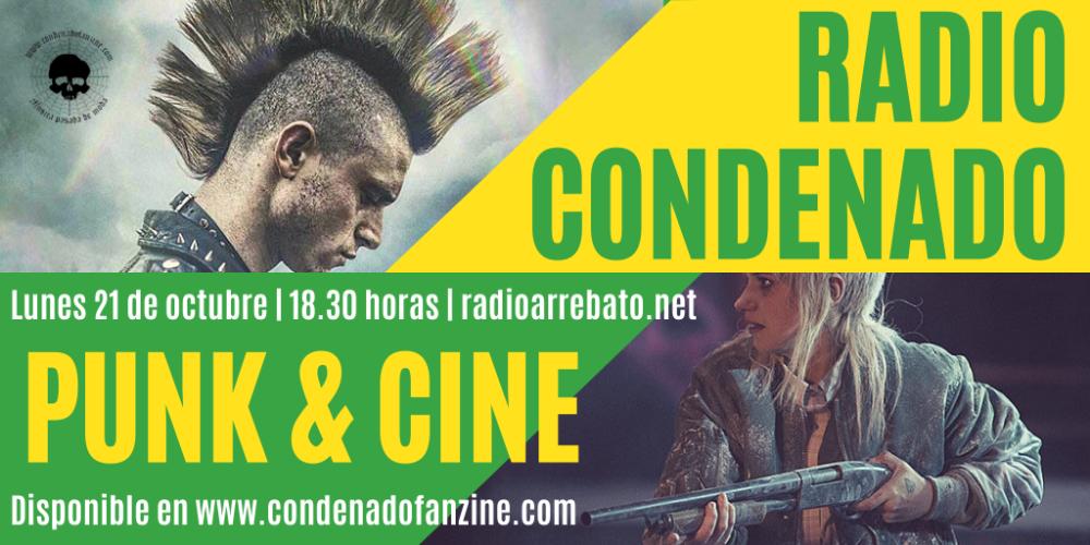 En el #4 programa de Radio Condenado hablamos de Punk & Cine, centrándonos en las películas Bomb City y Green Room, así como en el documental 'The Dicks From Texas', además hablamos con los organizadores del Ke Kaña Fest