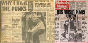 Teddy Boys vs Punks: Batalla generacional en Kings Road
