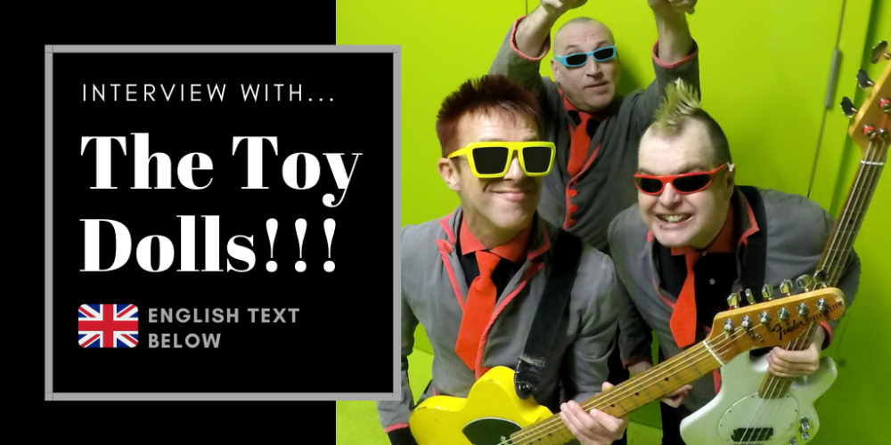 Interview with Olga, singer of The Toy Dolls, October, 2019
