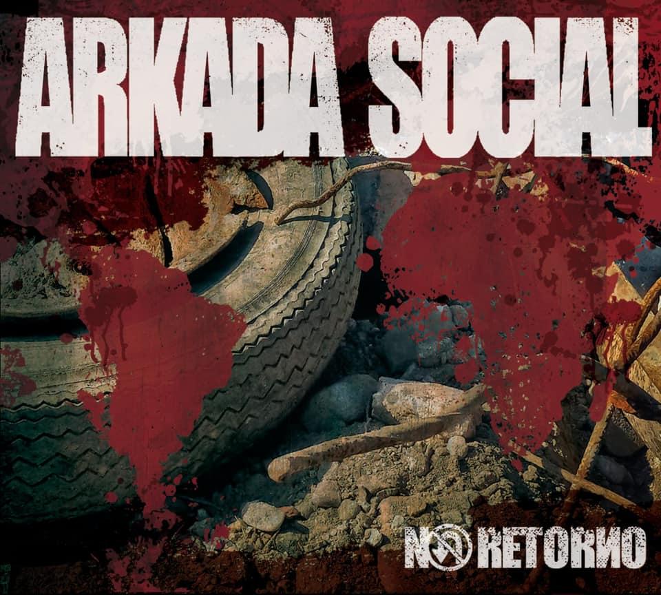 Portada de No Retorno, nuevo disco de Arkada Social