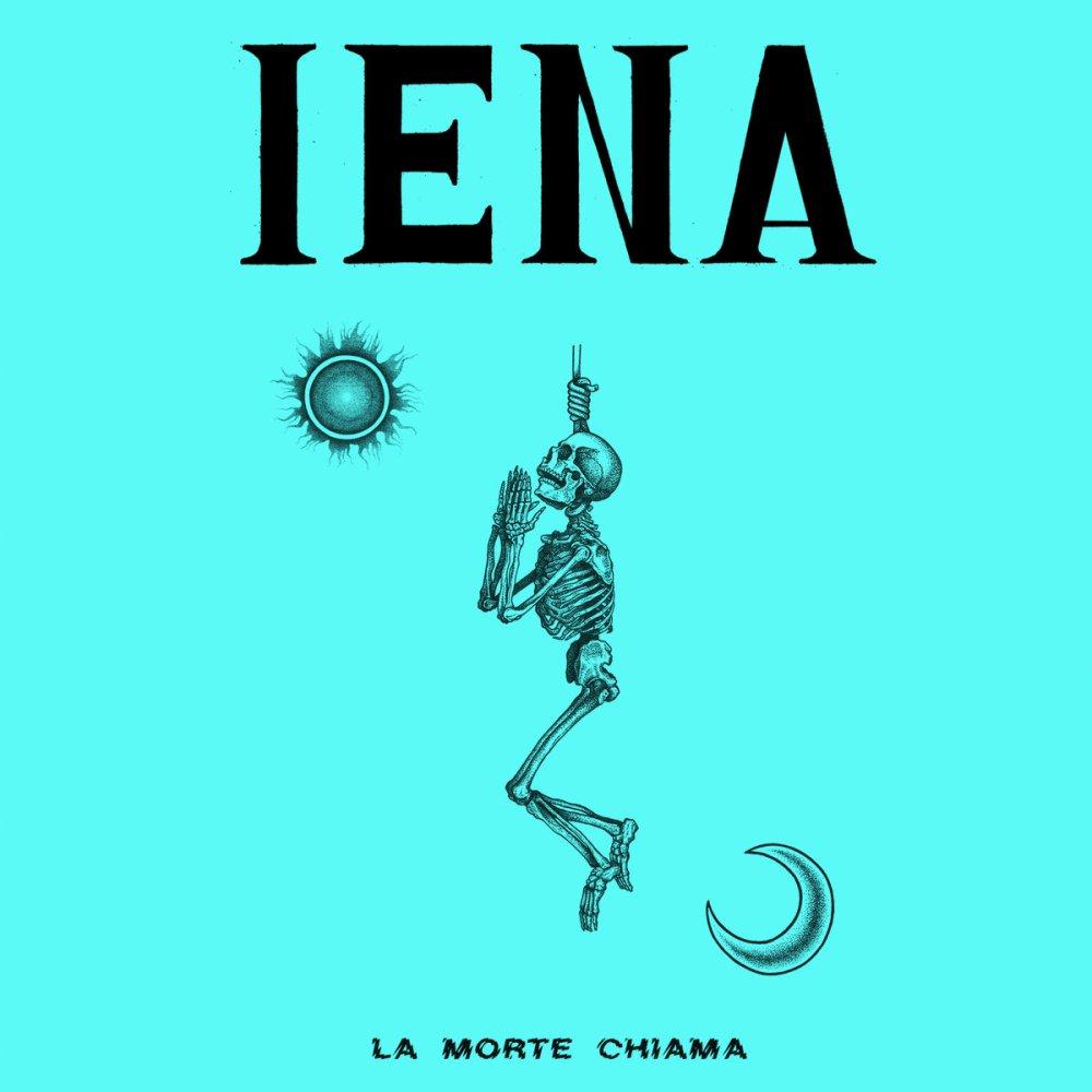 Portada de 'La Morte Chiama', primer LP de Iena, grupo punk & oi! procedente de Florencia. Disco editado por SOA Records y Timebomb Records.