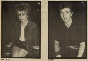 5 hoja entrevista en Sounds con The Partisans, en septiembre de 1982