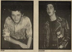 6 hoja entrevista en Sounds con The Partisans, en septiembre de 1982