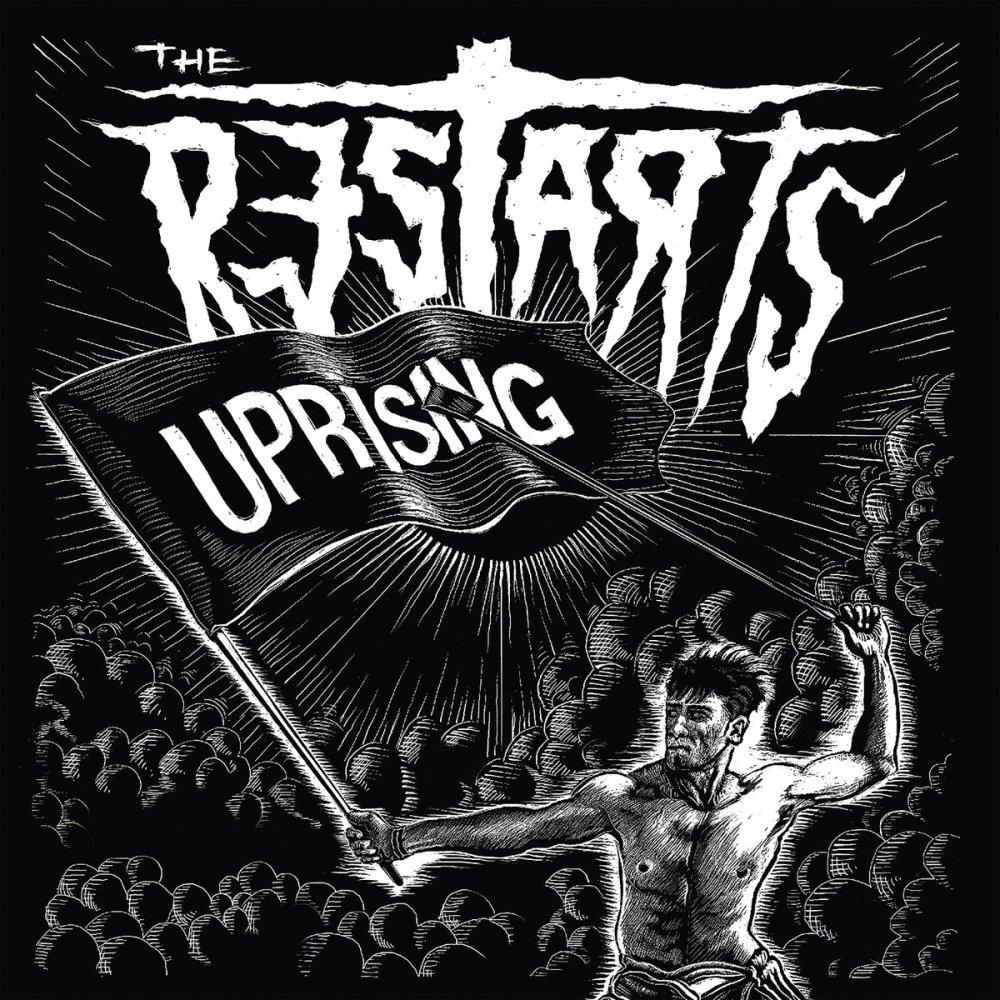 Portada de 'Uprising' (Pirates Press, 2019) de The Restarts