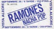 Ramones 1980-09-26 Madrid