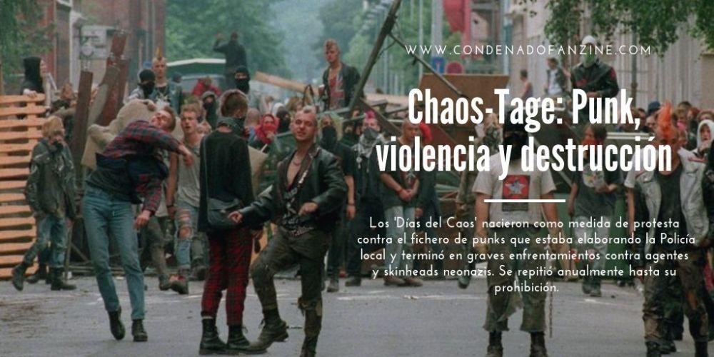 Pincha en la imagen para leer el artículo 'Chaos-Tage: Punk, violencia y destrucción en Hannover'
