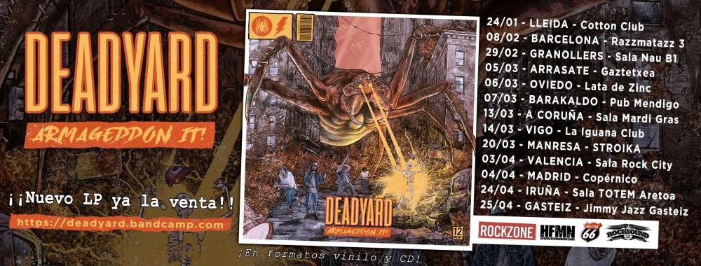 Próximos conciertos de Deadyard en 2020