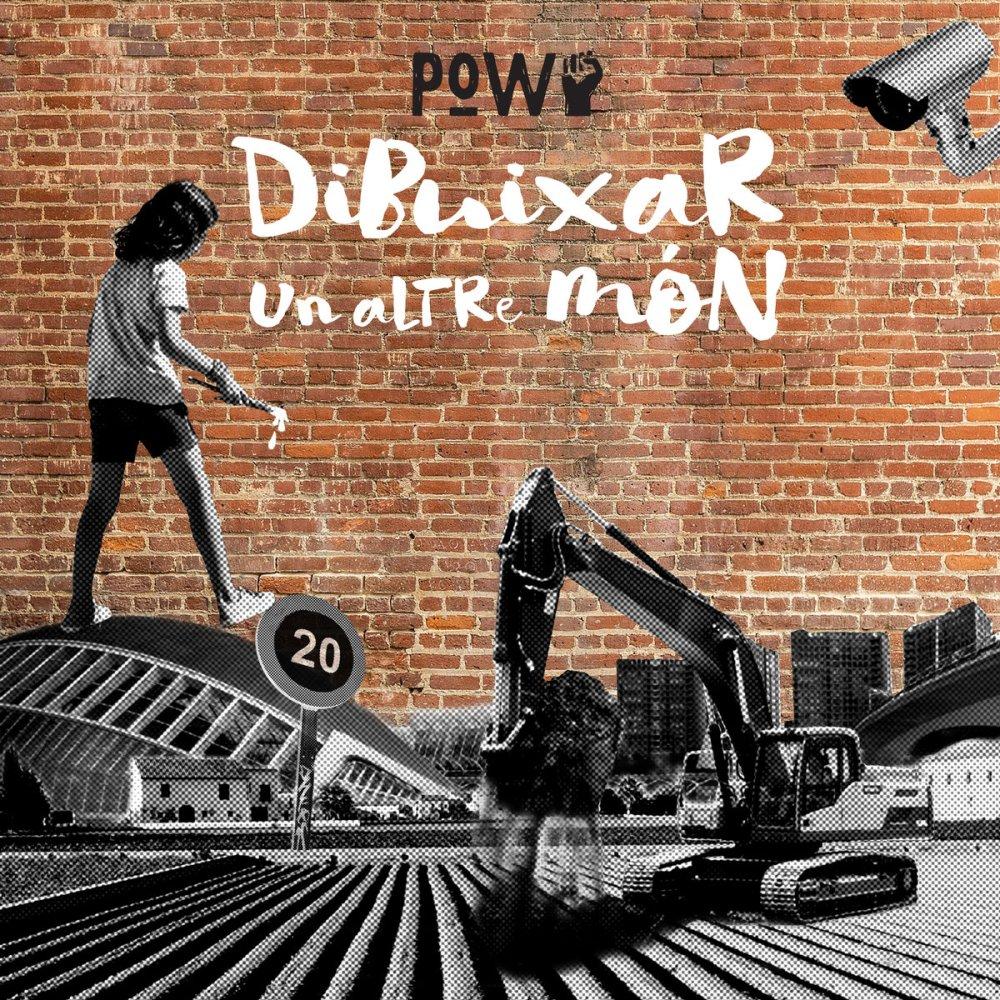 Portada de 'Dibuixar un altre món' (2020) de Prisoners of War, EP publicado por Mediterranean Skins