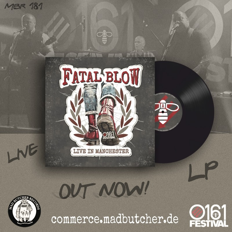 Fatal Blow: 'Live In Manchester' (Mad Butcher Records, 2020)