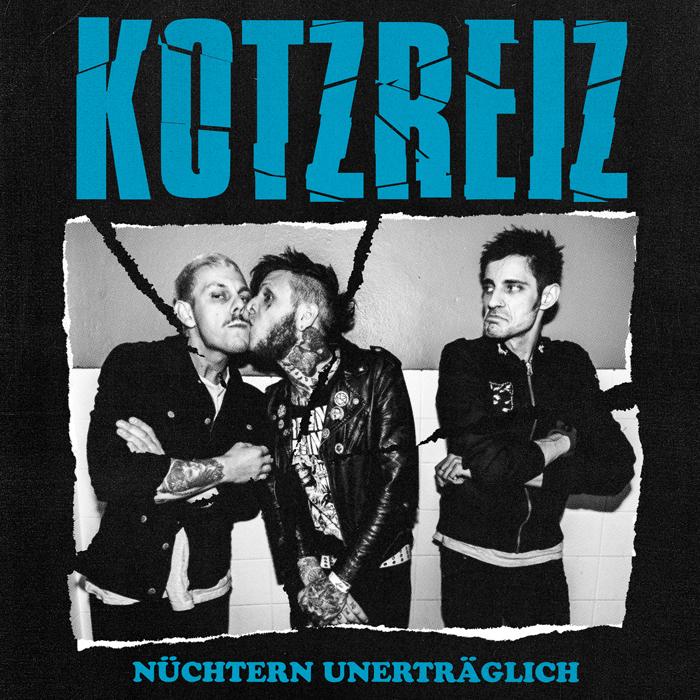 Portada del nuevo disco de Kotzreiz: 'Nüchtern unerträglich' (2020)