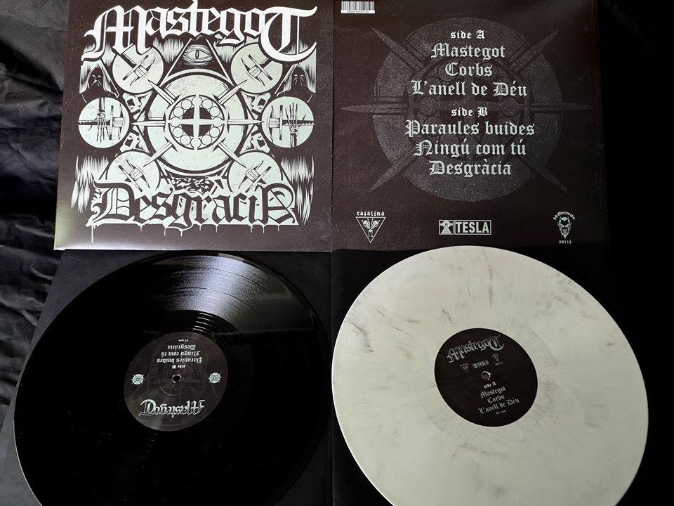Mastegot: 'Desgràcia' EP publicado en 2020 por Tesla Music, H-Records y Catalina Tapes
