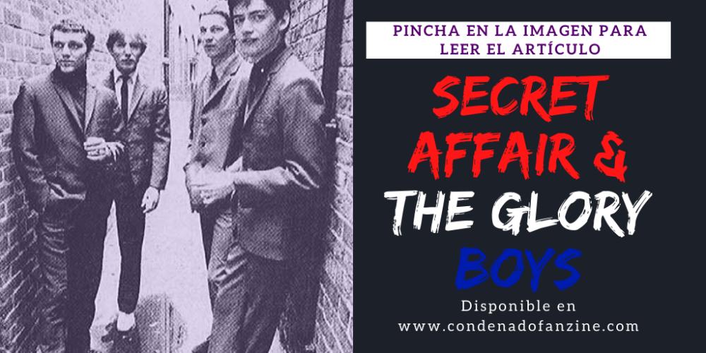 Pincha en la imagen para leer el artículo 'Secret Affair & The Glory Boys'