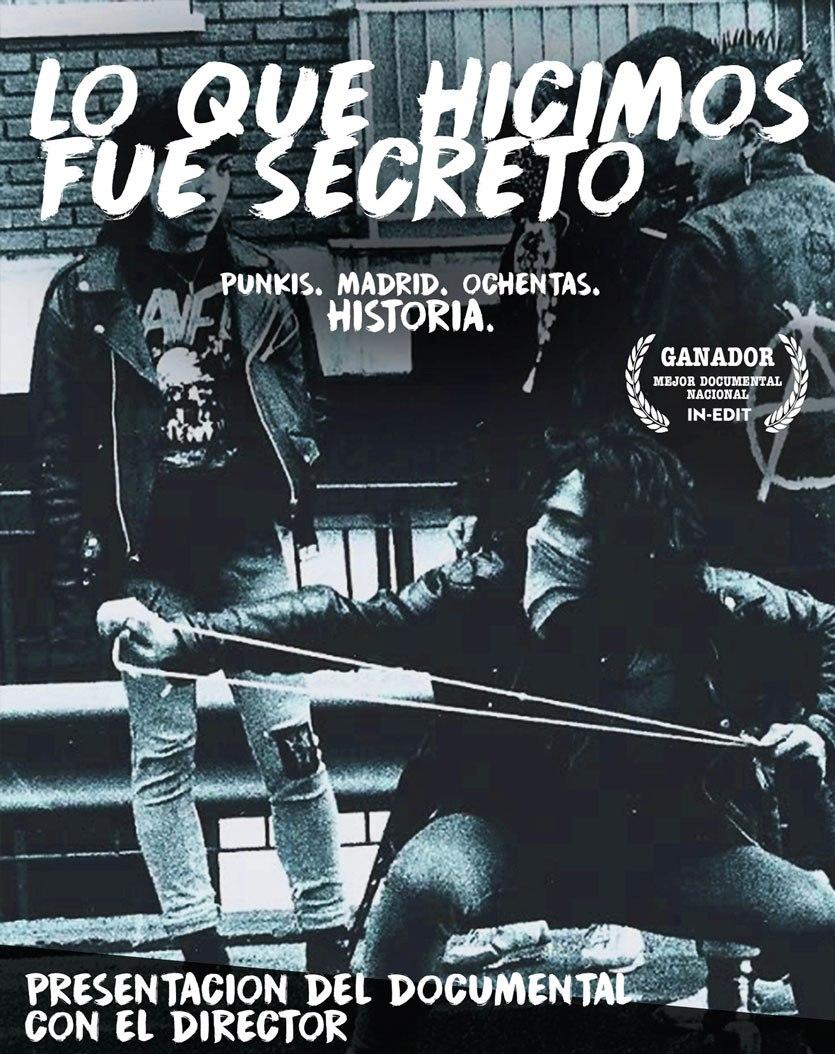Cartel del documental 'Lo que hicimos fue secreto'