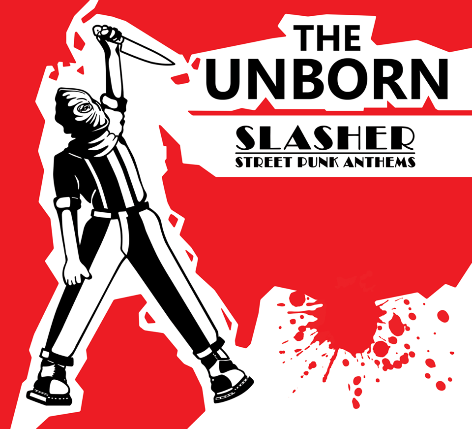 Portada de 'Slasher - Street Punk Anthems' de The Unborn