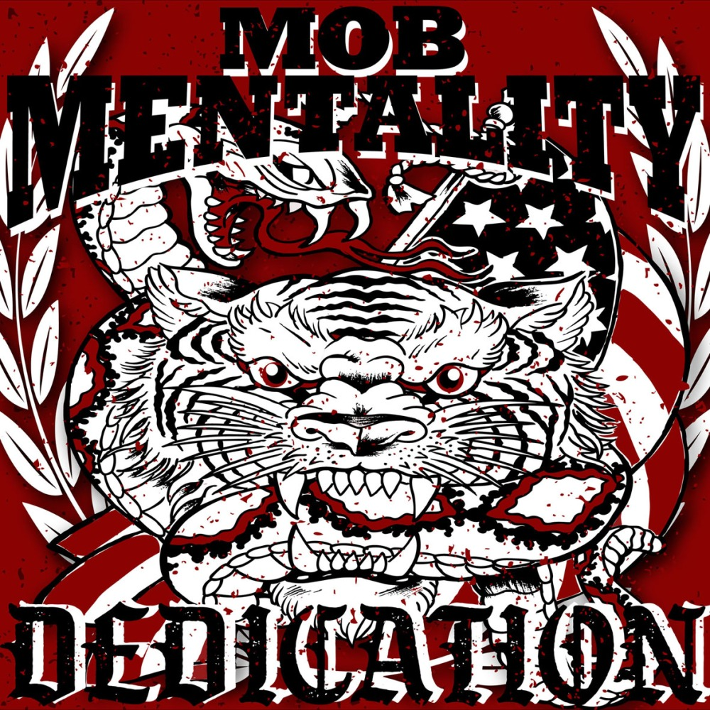 Portada de 'Dedication' (Laketown Records, 2020) de Mob Mentality