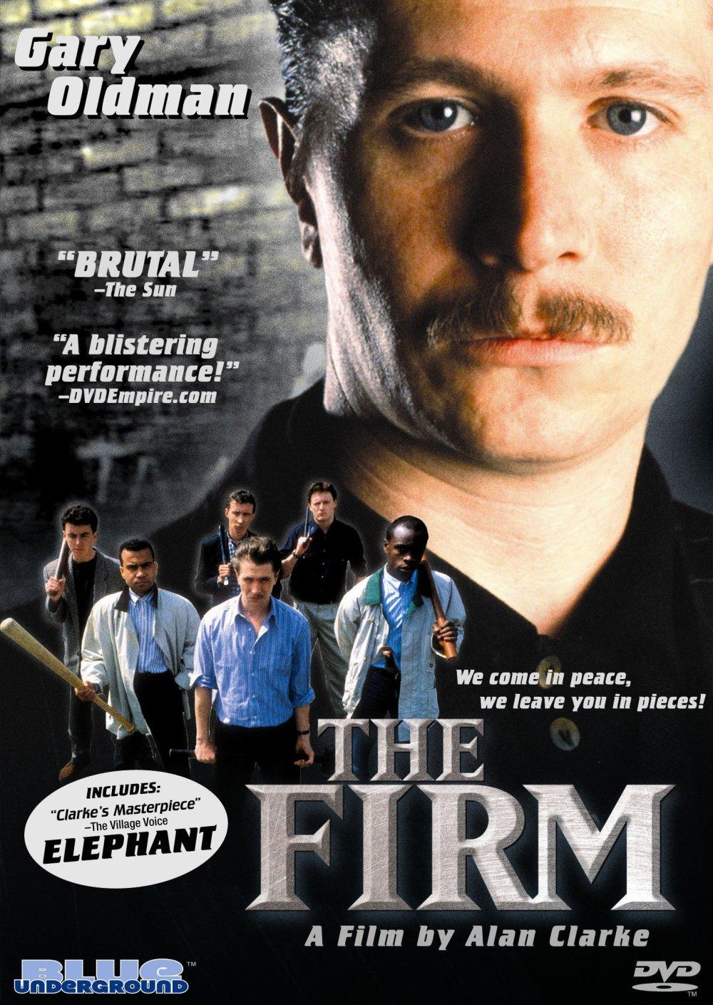 Cartel de la película 'The Firm' (1989) de Alan Clarke y con Gary Oldman