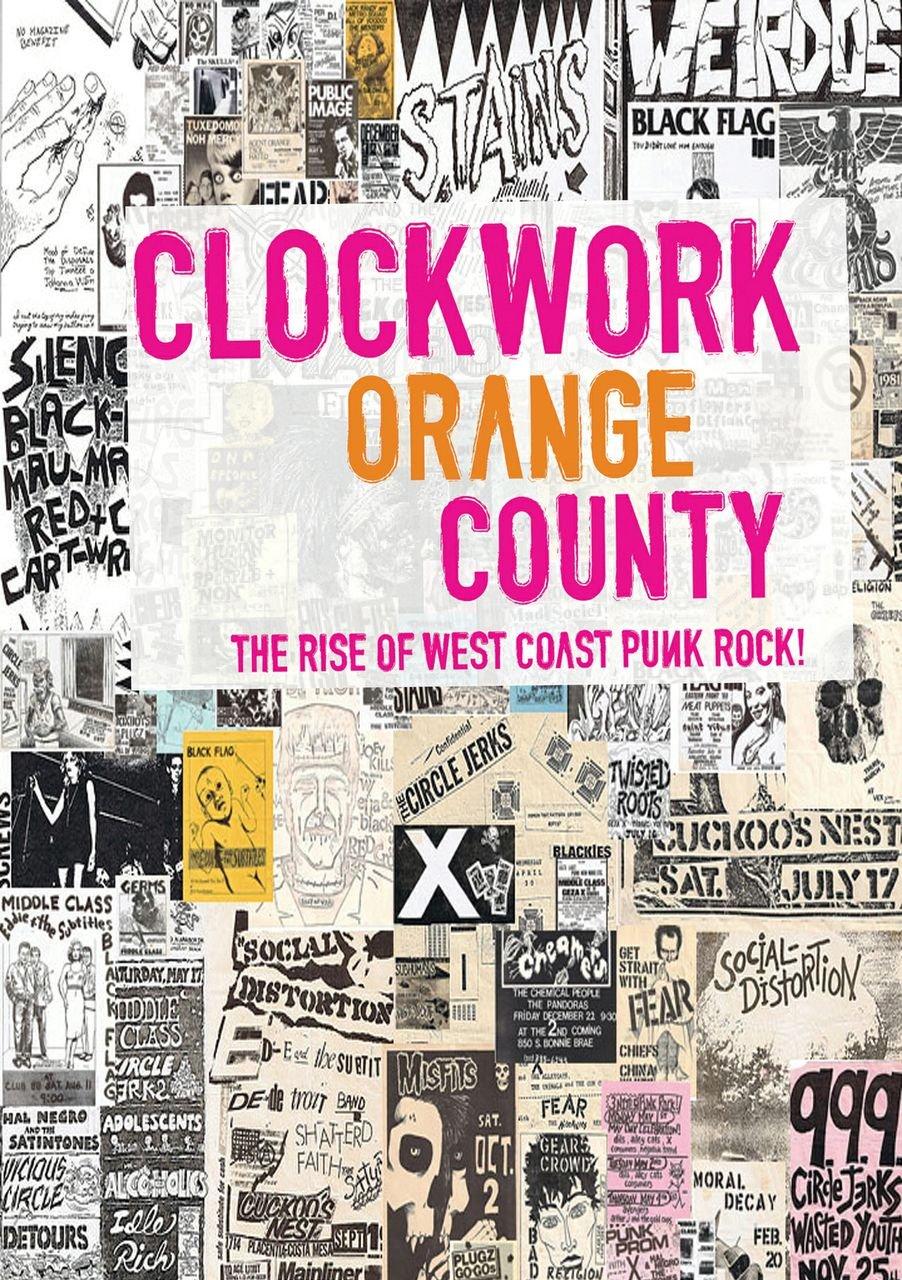 Cartel del documental 'Clockwork Orange County' (2012)