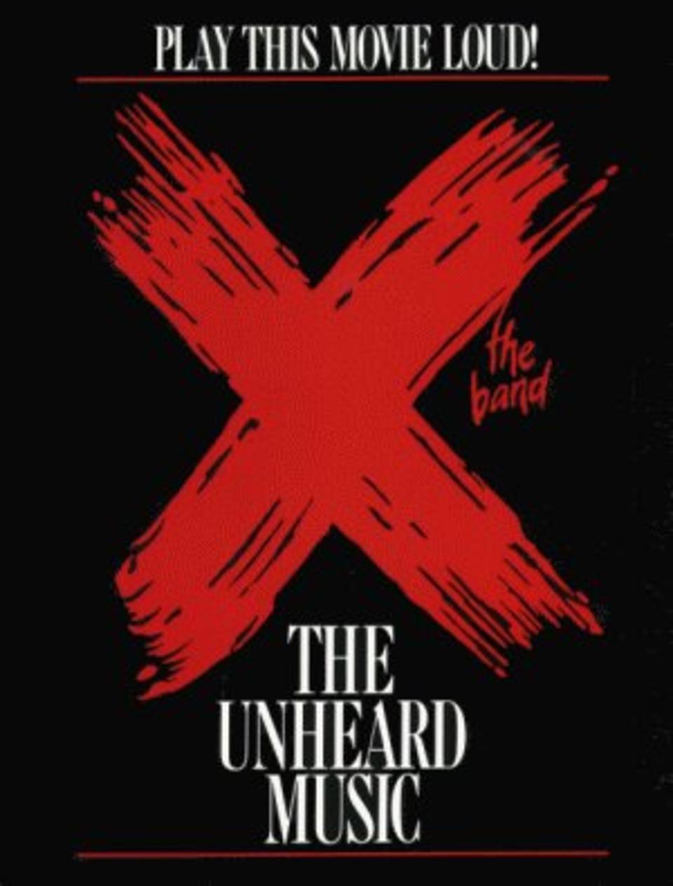 Cartel del documental X - The Unheard Music (1986)
