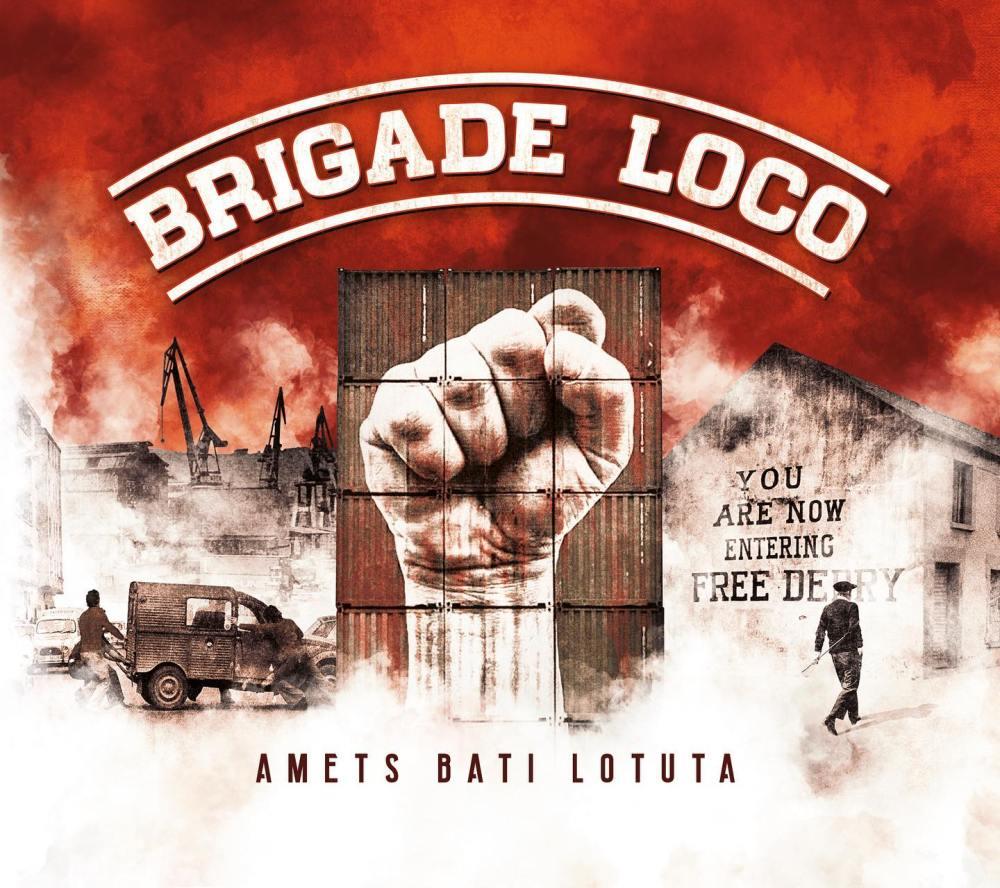 Portada de 'Amets bati lotuta' (2020) de Brigade Loco