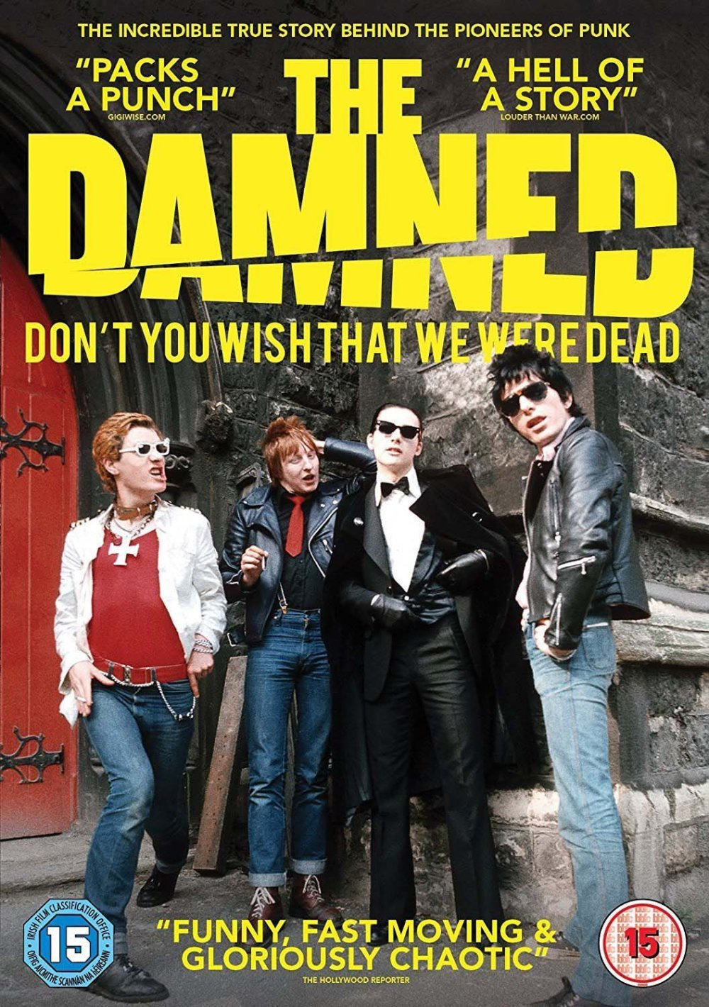 Cartel de The Damned: 'Don't You Wish That We Were Dead' (2015)