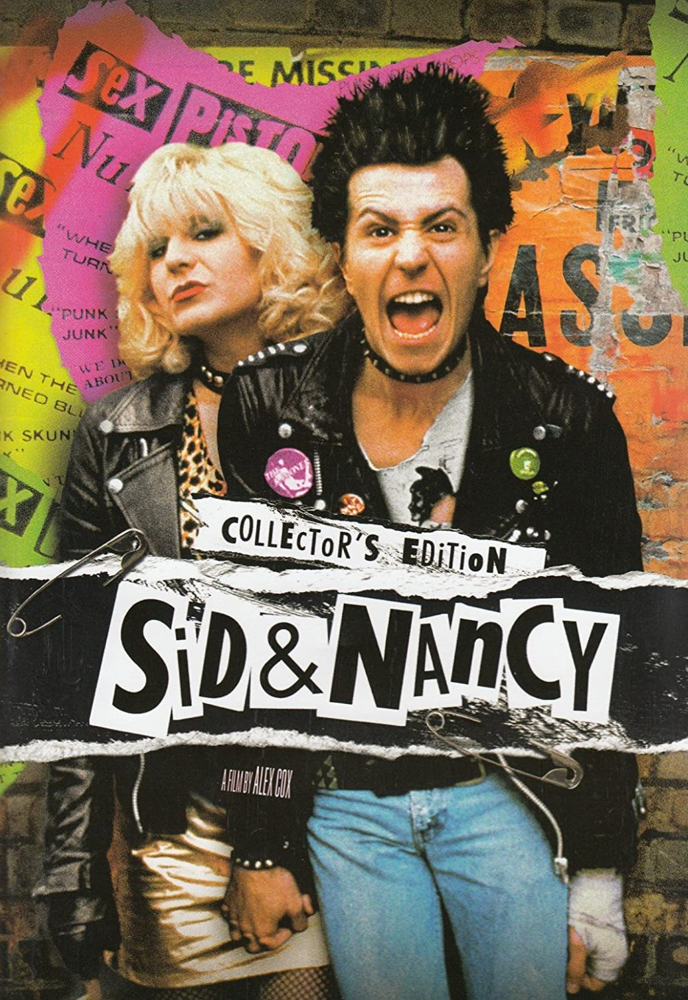 Cartel de la película Sid and Nancy (1986)