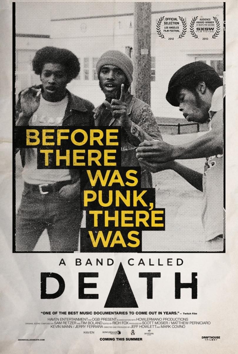 Cartel del documental 'A Band Called Death' (2012) en versión original en inglés con subtítulos en castellano