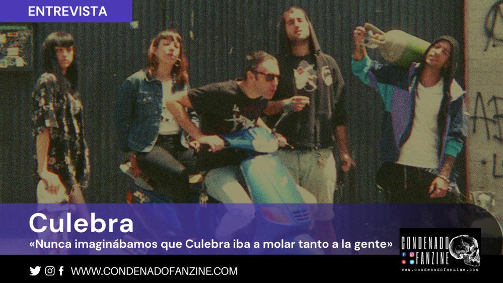 Entrevista realizada a la banda Culebra (punk | Granada) por Condenado Fanzine