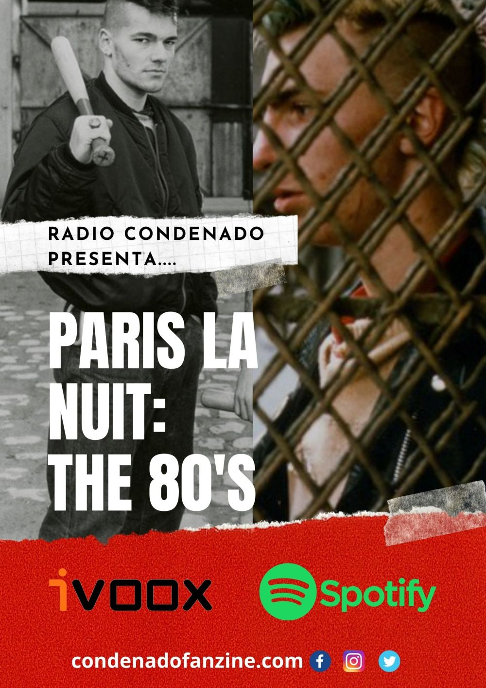 Cartel de Radio Condenado #46 | París La Nuit