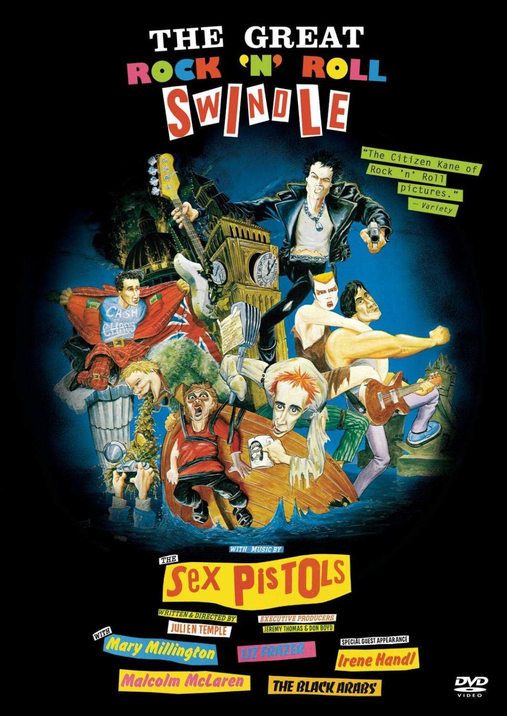 Cartel de 'The Great Rock 'n' Roll Swindle' (1980)