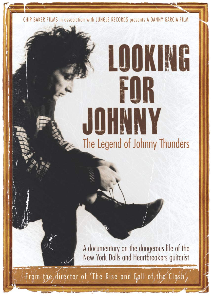 Cartel del documental: 'Looking For Johnny: The Legend of Johnny Thundres' (2014)