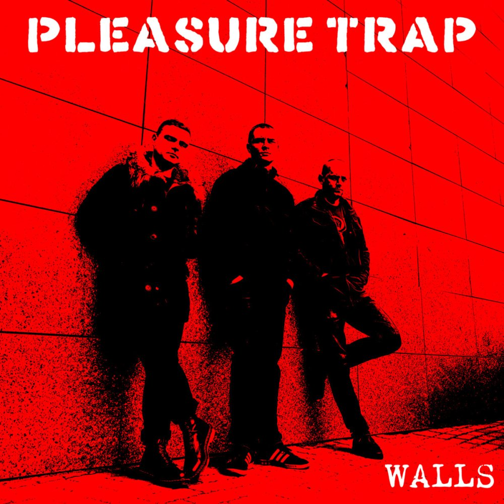 Portada de 'Walls' (Oldschool Records, 2020) de Pleasure Trap