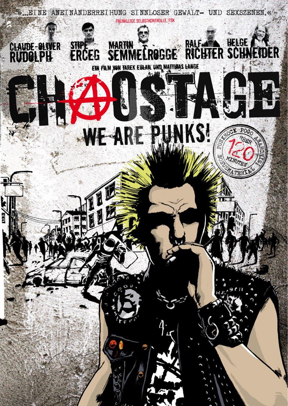Cartel de la película 'Chaostage - We Are Punks' (2009)