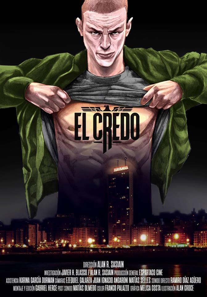 Cartel del documental 'El Credo' de Alan Sasiain