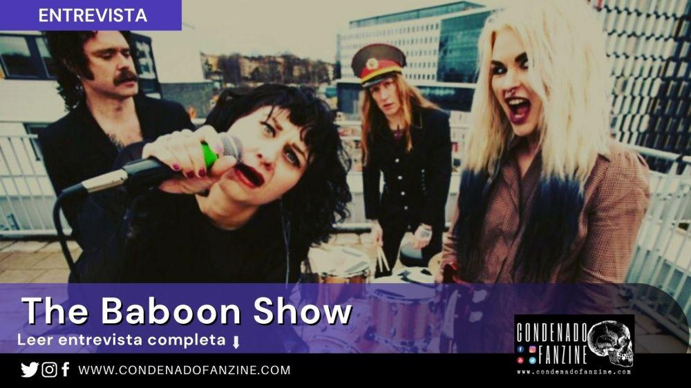Entrevista a The Baboon Show por Condenado Fanzine, publicada en enero de 2021