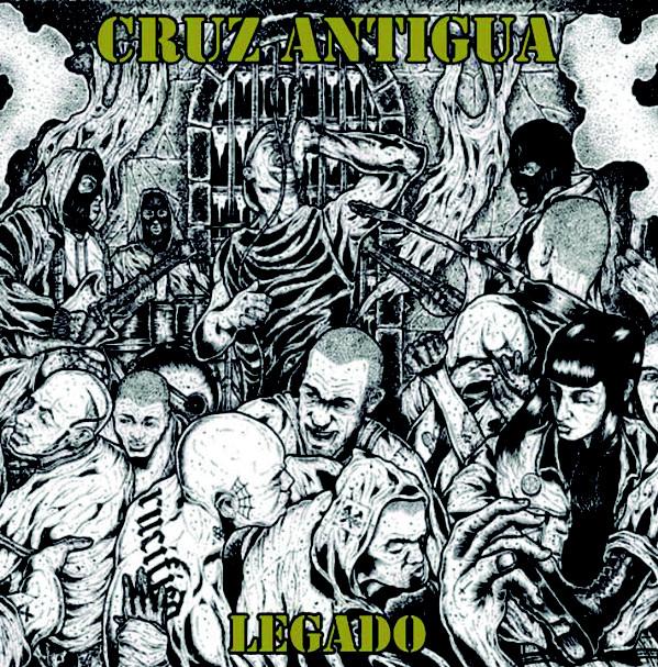 """Portada de del 7"""" 'Legado' de Cruz Antigua [Amor Y Rabia Records, 2020]"""