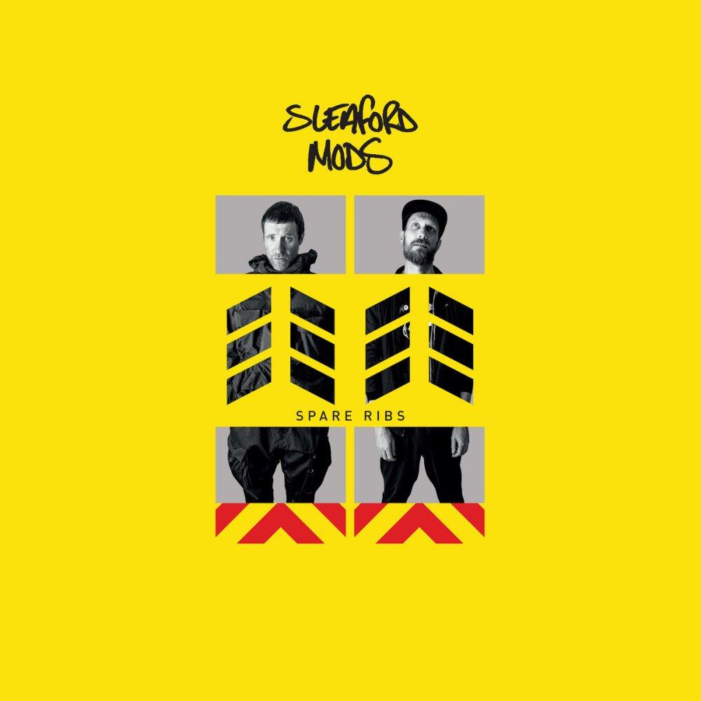 Portada de 'Spare Ribs' (Rough Trade Records, 2021) de Sleaford Mods