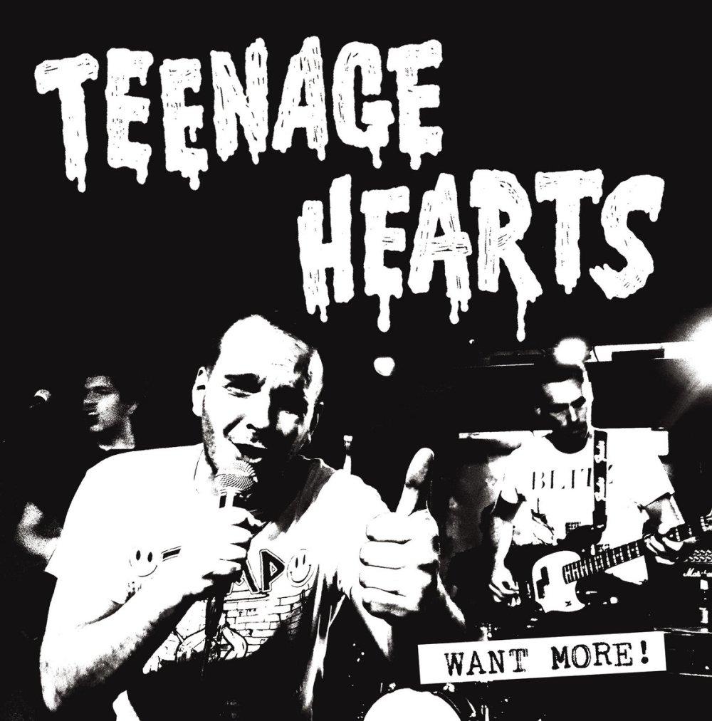 Portada del disco 'Want More' de Teenage Hearts, que edita Tough Ain't Enough Records (2021)