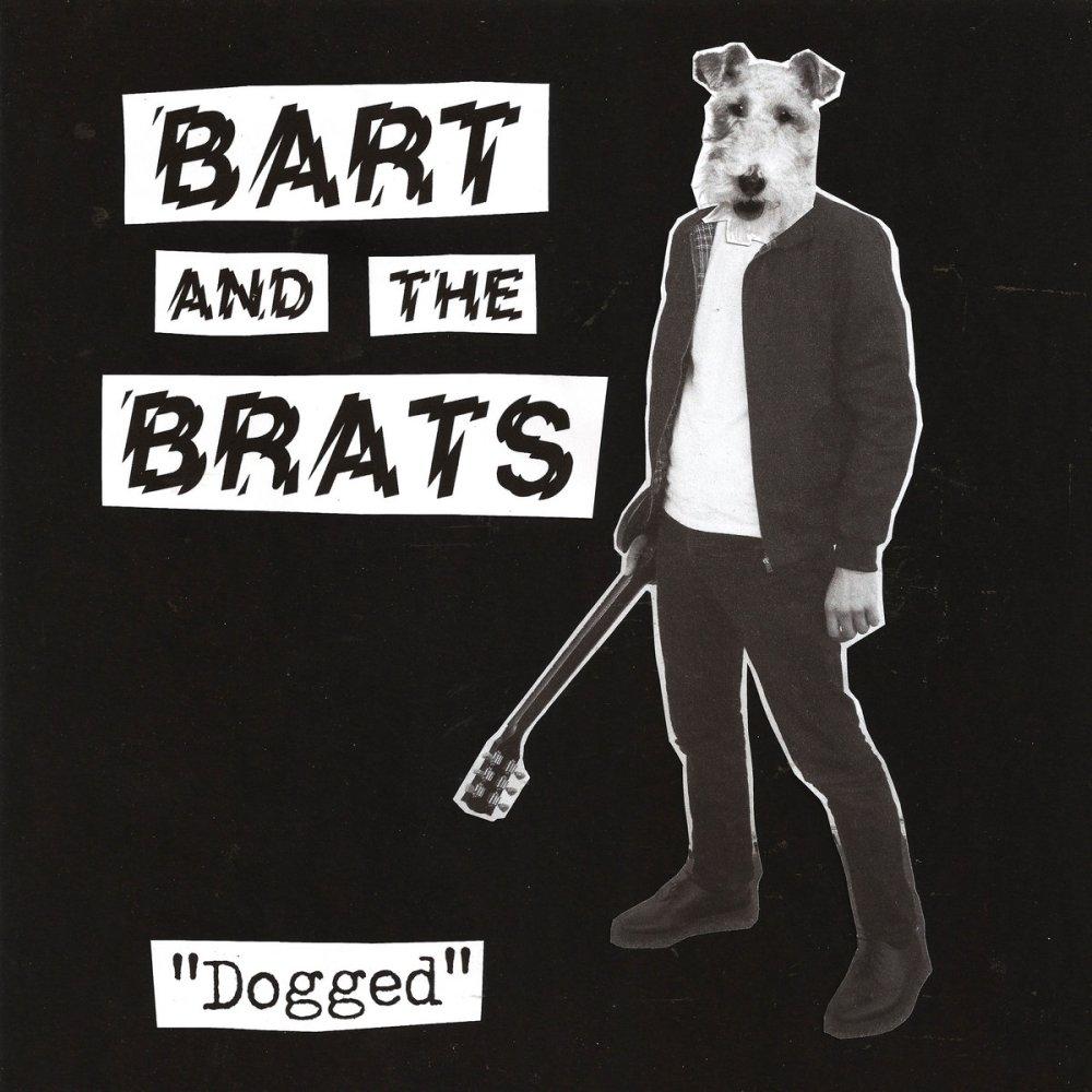 Portada de 'Dogged', disco de Bart and The Brats, editado en marzo de 2021 por Chickpea Records