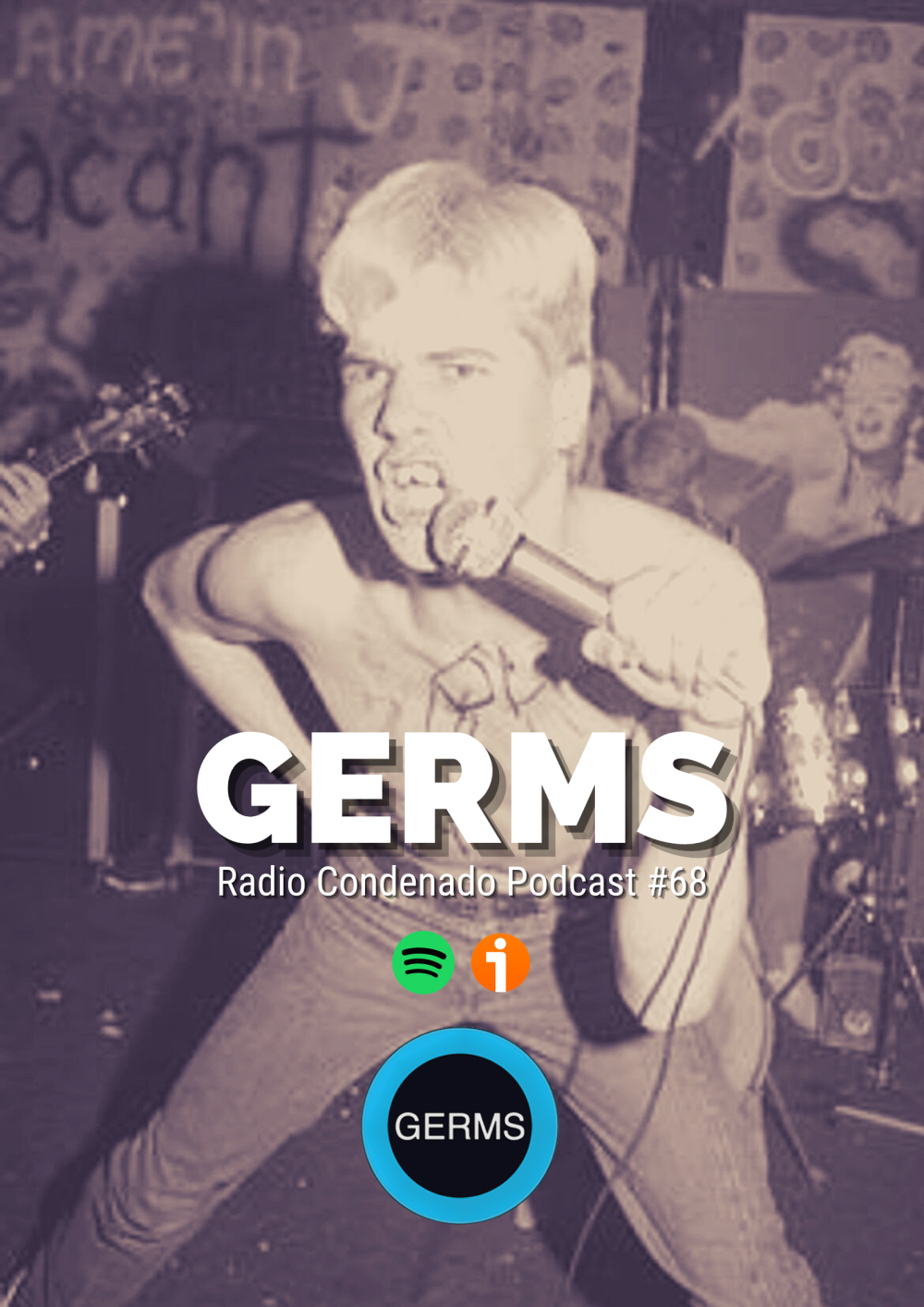 Cartel de Podcast RC#68 | La historia de Darby Crash y The Germs
