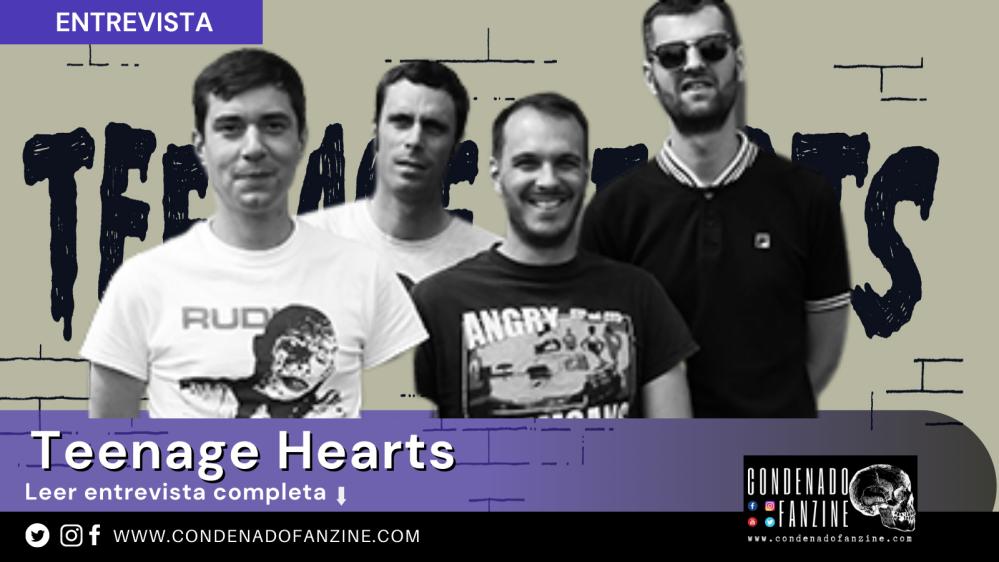 Entrevista con Teenage Hearts por Condenado Fanzine