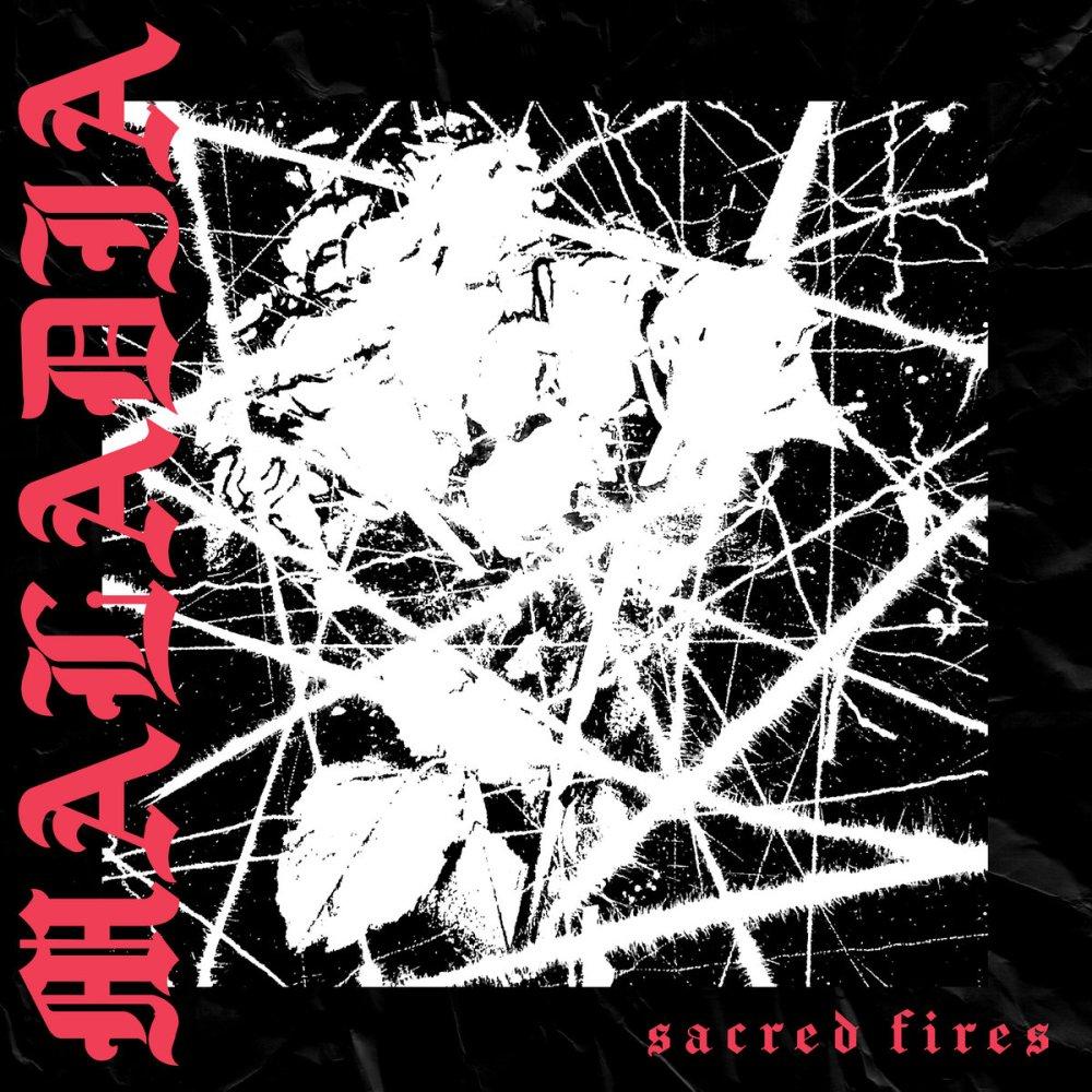 Portada del EP 'Sacred Fires' de Maladia, que será editado en mayo de 2021 por el sello La Vida Es Un Mus